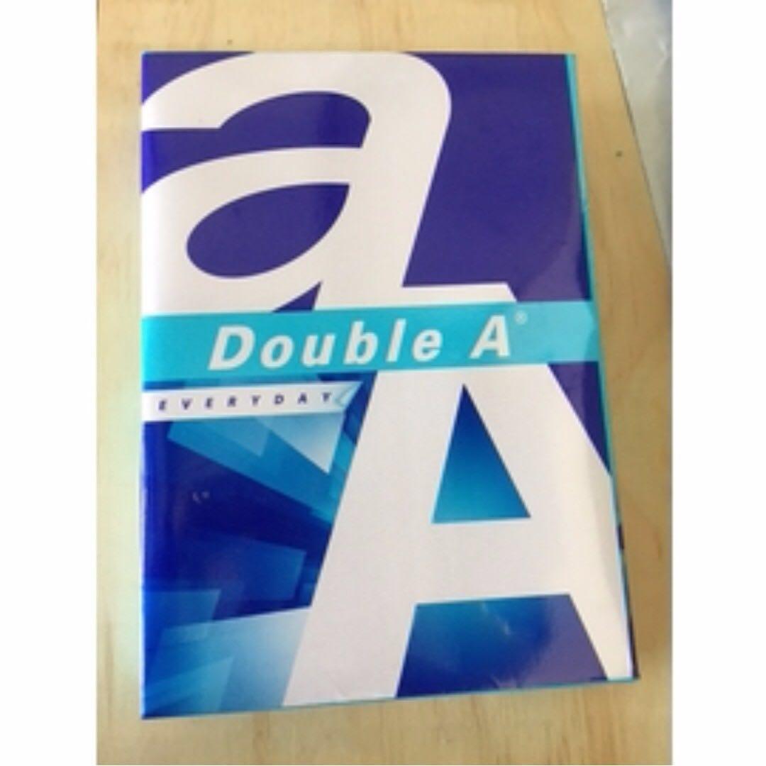 Double A 70gsm A4 多功能影印紙 列印紙 500張