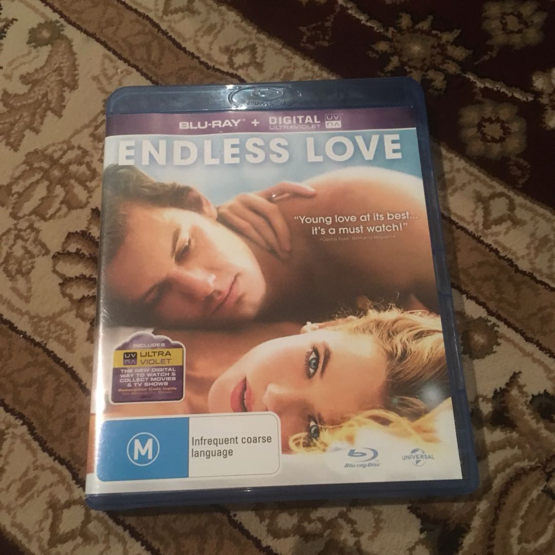 💚Endless Love DVD blu ray