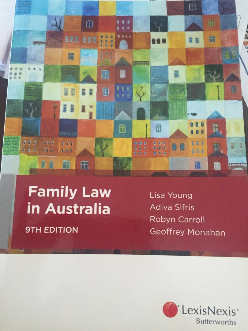 Family Law text book