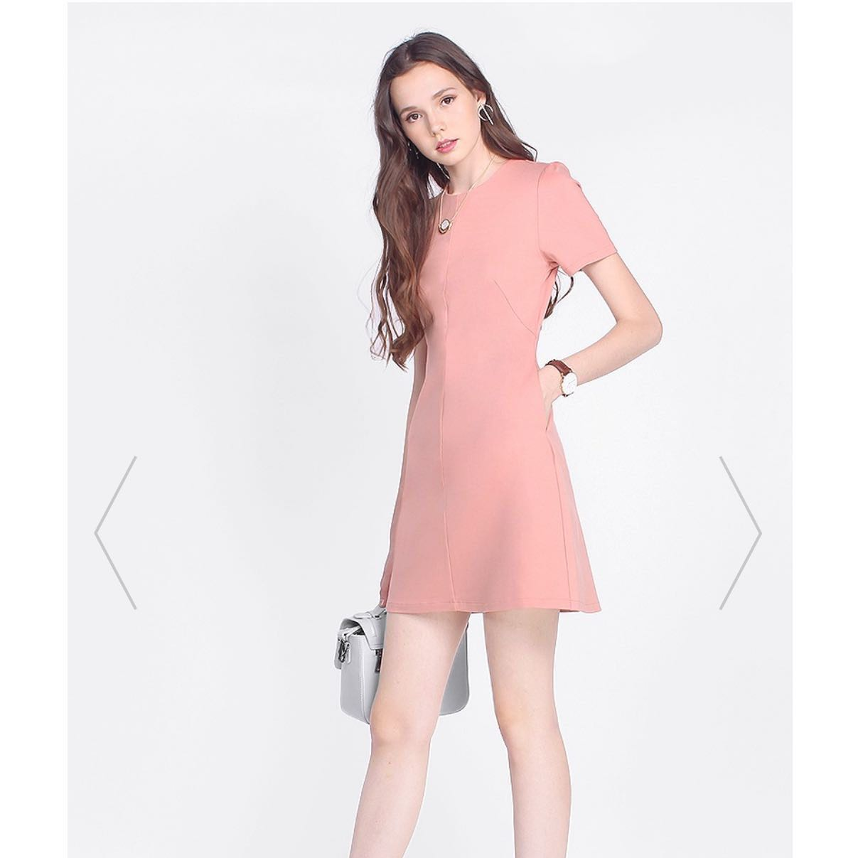 e7252486d3f0 Fayth Chenery work dress (XS) in blush nude, Women's Fashion ...