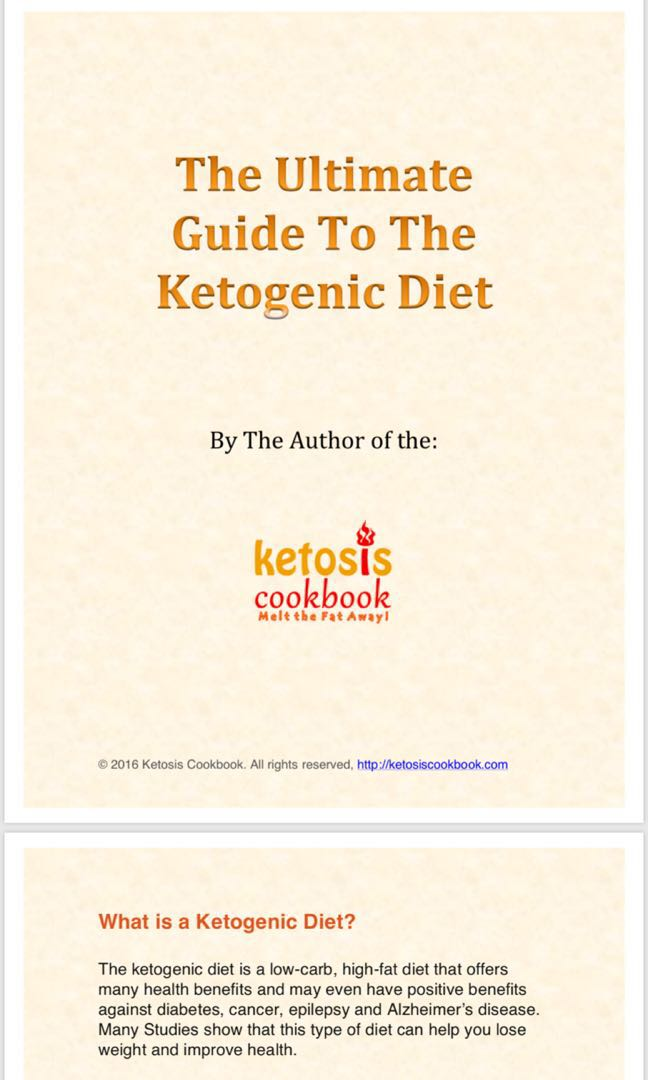 Guide to Keto diet