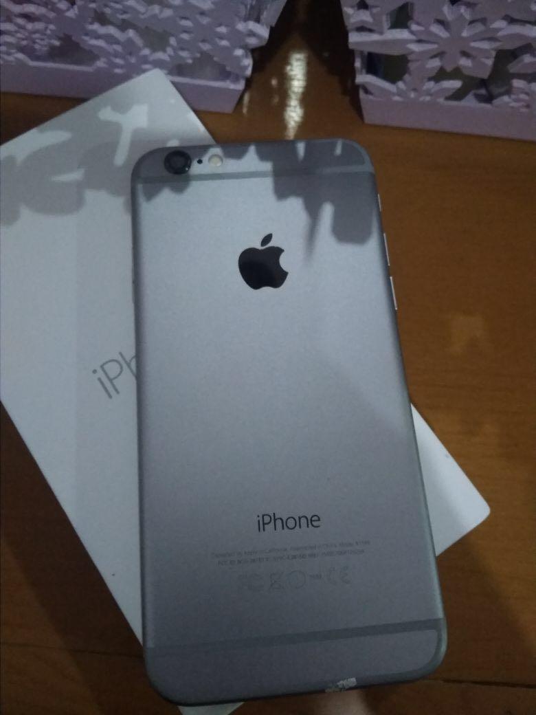 iphone 6 16gb gray fullset