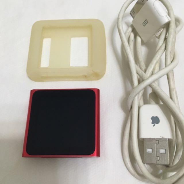 IPod nano 6 紅色 red 限定版 16gb
