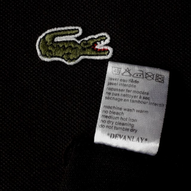 LACOSTE polo tee (Authentic)