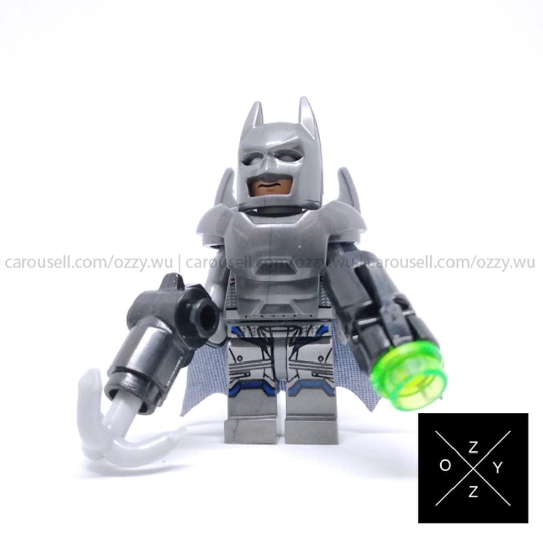 Lego Compatible DC Supeheroes Minifigures - Armored Batman