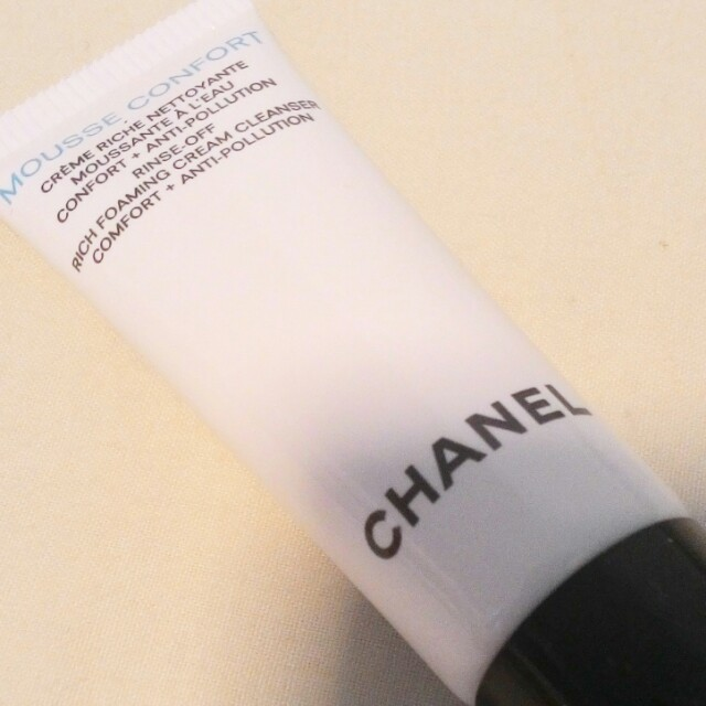 LESS EXTRA 30% - LAST DAY RM38 - 30% = RM26.60  CHANEL MOUSSE COMFORT CLEANSER  A RICH FOAMING CLEANSER FOR ULTIMATE COMFORT+ANTI-POLLUTION   100% AUTHENTIC & BRAND NEW   DELUXE SIZE   RM38 LIMITED TIME