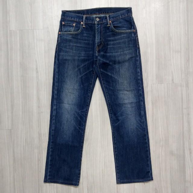 Levi's levis 00502-0239 w31 L34 刷色直筒牛仔褲 502 512 523