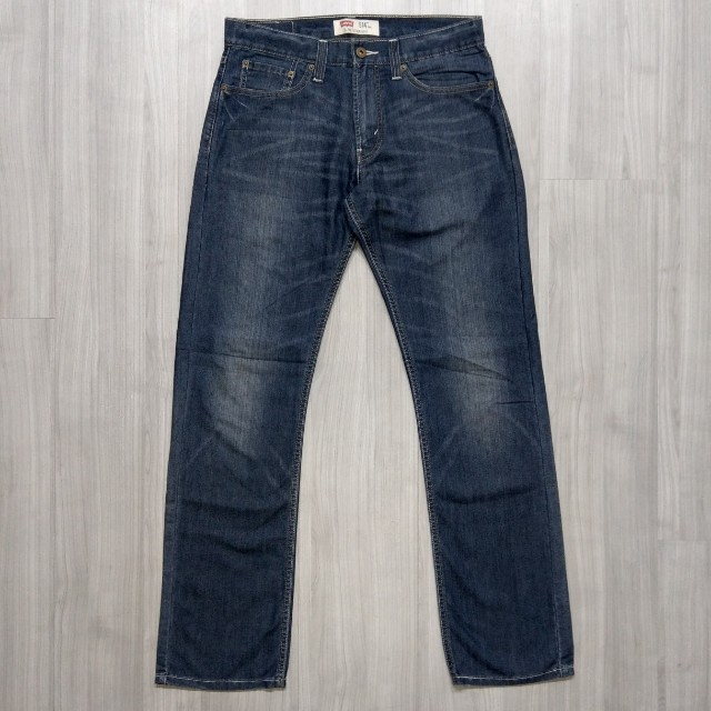 Levi's levis 00514-0222 w31 L32 刷色直筒牛仔褲 514 504 511