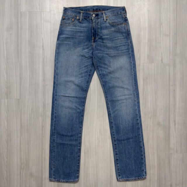 Levi's levis 29990-0028 w30  L34 淺色刷色直筒牛仔褲 504 514 511