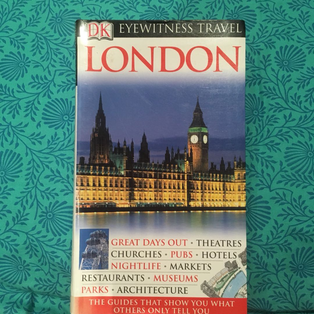 💚London Eyewitness Travel Guide