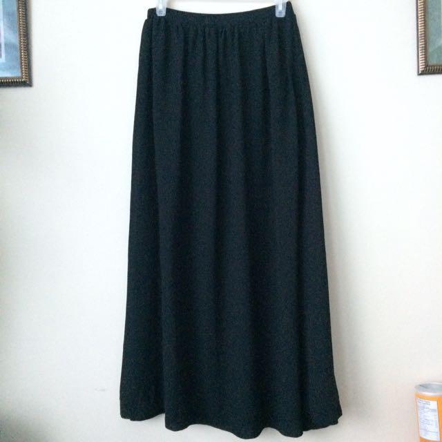 Long see through skirt