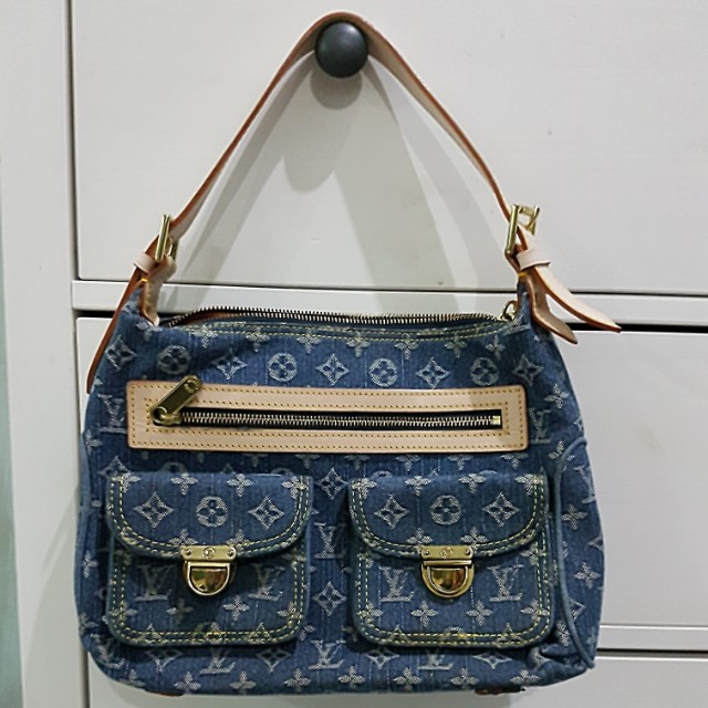 LOUIS VUITTON CLASS A DENIM MONOGRAM SHOULDER BAG