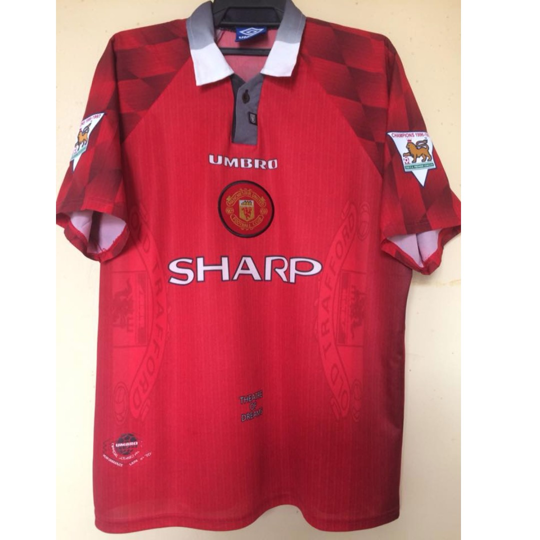 bbcce87dc Manchester United Theater of Dreams Cantona 7 size L