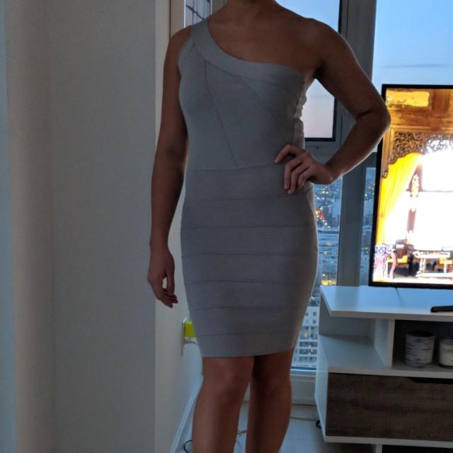 Marciano bandage dress, size small