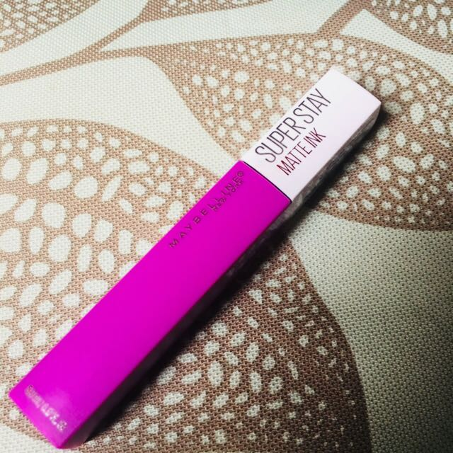 Maybelline Superstay matte lipstick