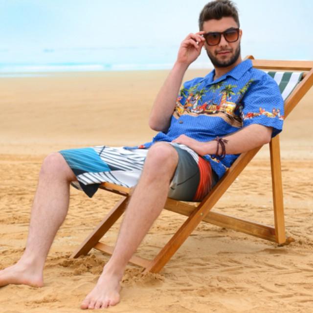 eedf43639f Men shirt vintage unique beachwear, Men's Fashion, Clothes on Carousell