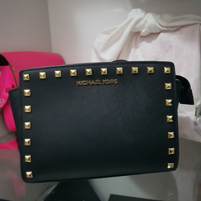 Michael Kors Selma Mini Studded