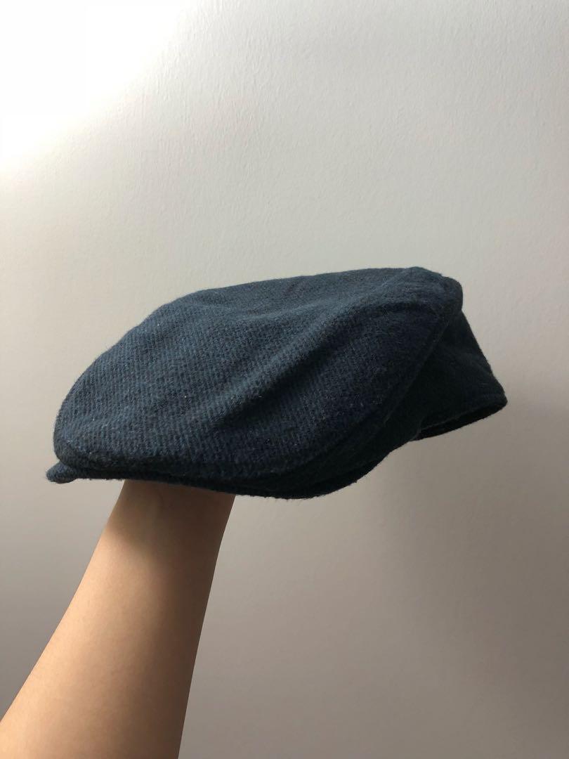NEW Navy Blue Newsboy Hat