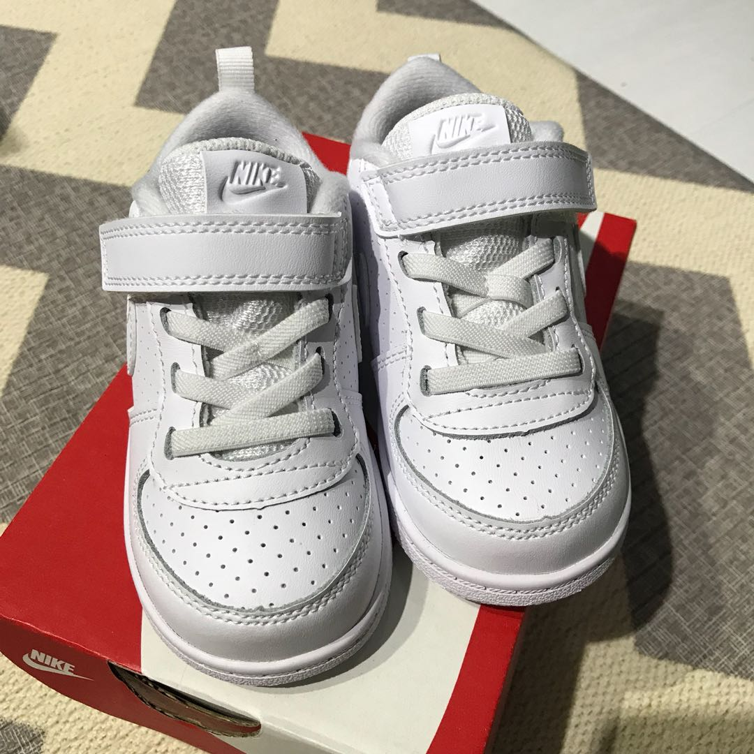 b85658e38f72 Nike Court Borough Low Toddler Shoes on Carousell