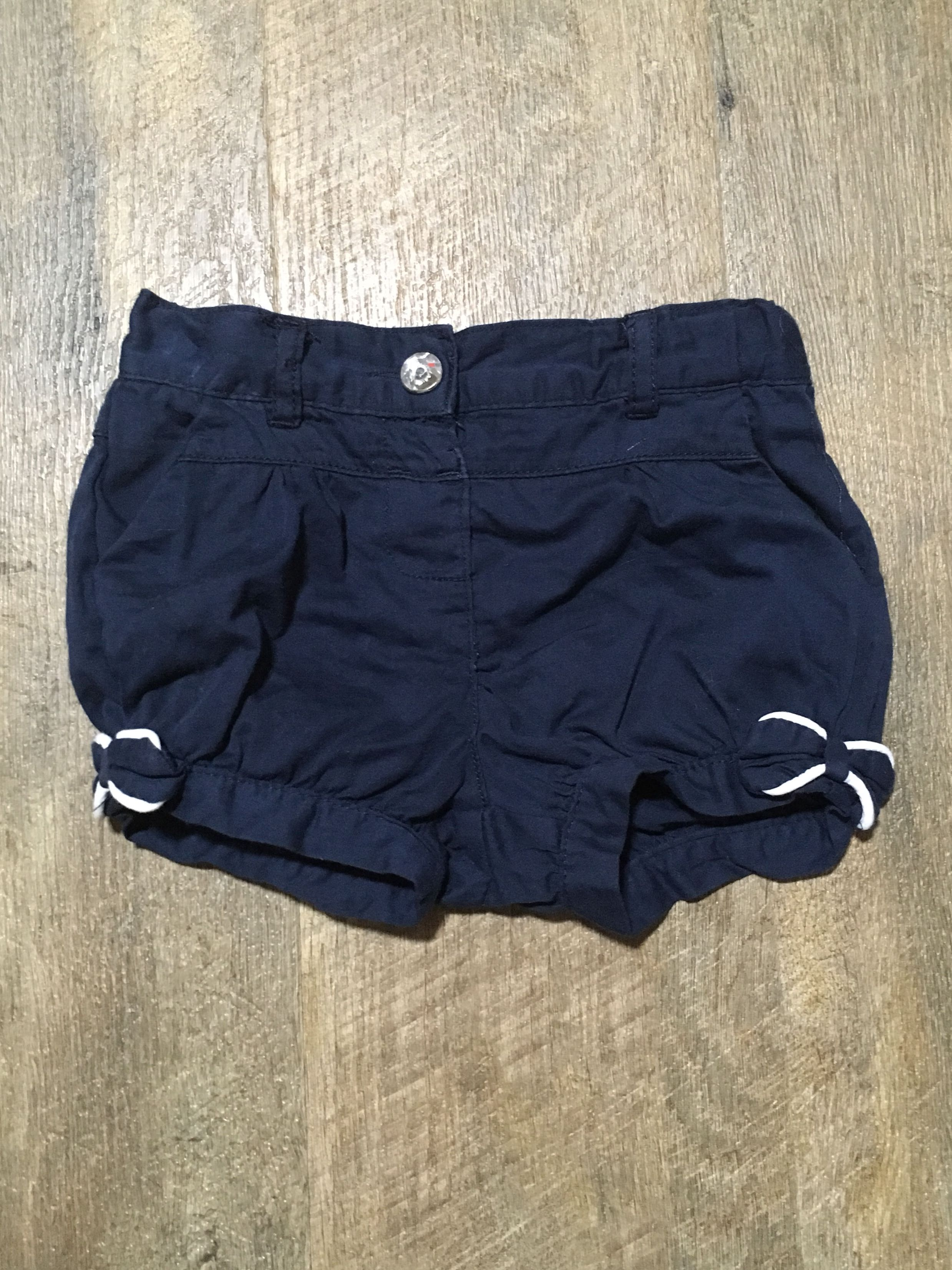 Ollie's Place navy shorts