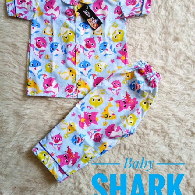 Piyama Baby Shark - PO - Made by Order