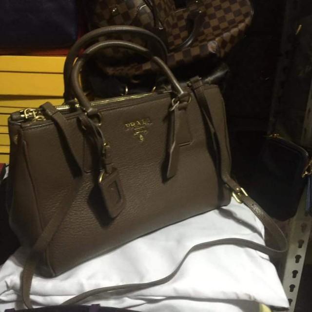 Prada Saffiano hand sling bag 2ca2604b94caa