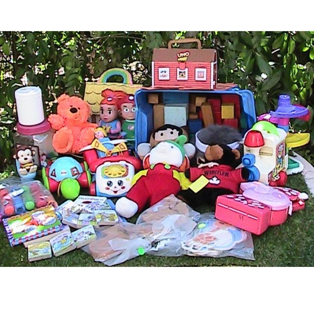 Pre-School Kid's Playthings