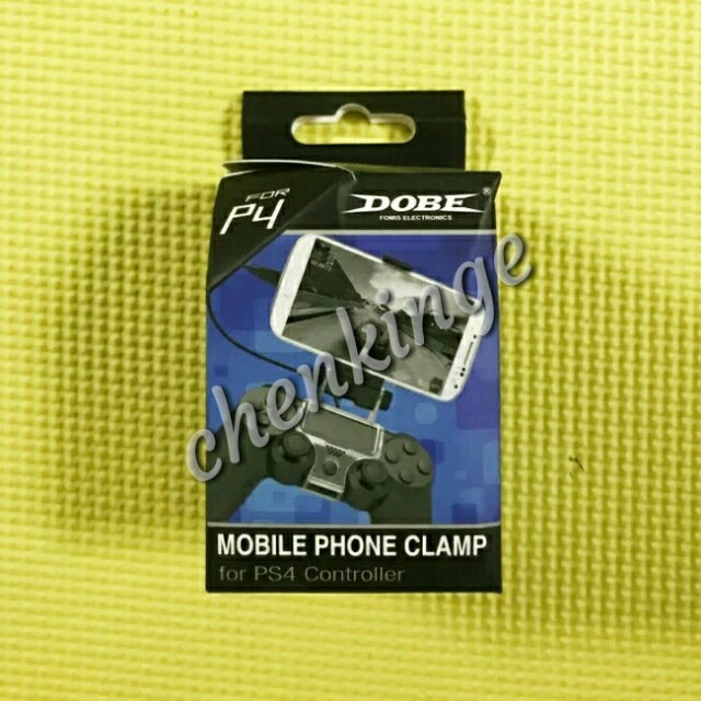 Clip/clamp for Mounting Mobile Phone to PS4 Controller for Smartphone Gaming