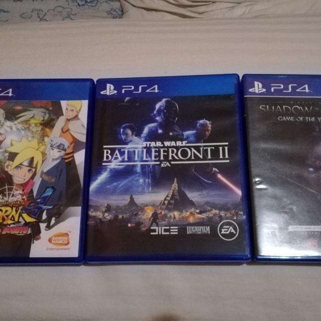 PS4 Playstation 4 Games