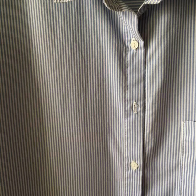 (REDUCED) Pull & Bear striped/stripe button-up shirt