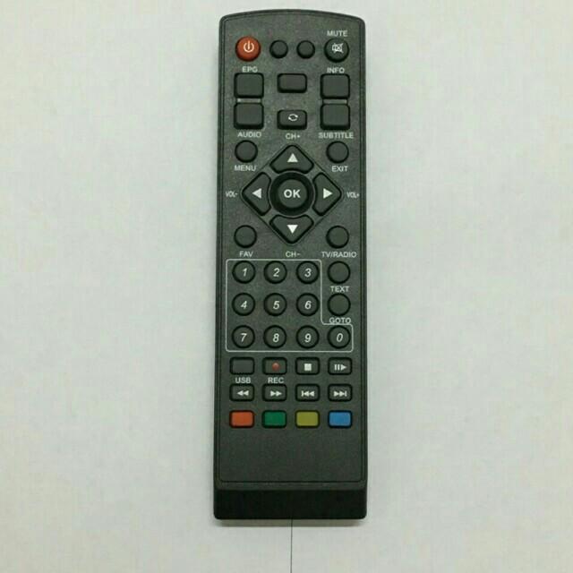 Remote untuk dekoder mytv