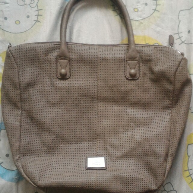 S. Oliver taupe large bag