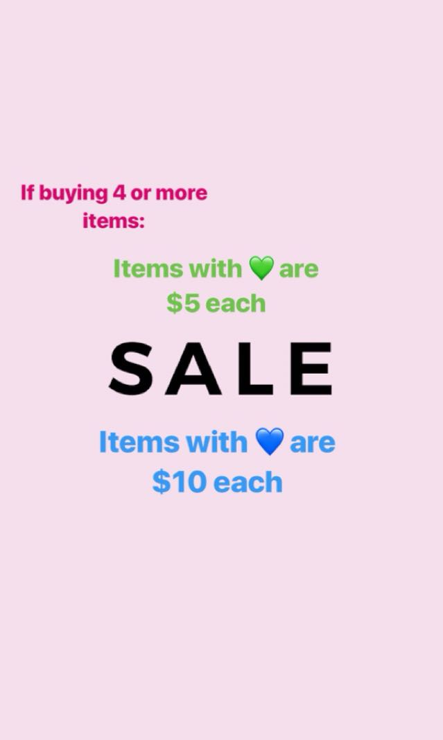 SALE!!!! Clothes, dvds, books and more!