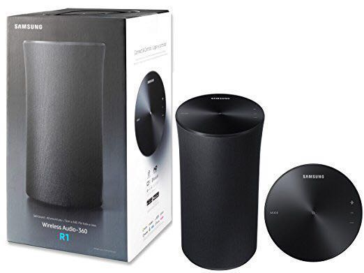 Samsung R1 (WAM1500) WiFi Bluetooth Wireless Audio 360 Speaker - Black b7933f5f437af