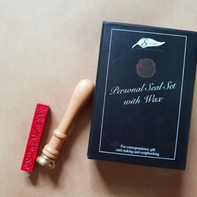 Scribe Essentials - Personal Seal Set with Wax