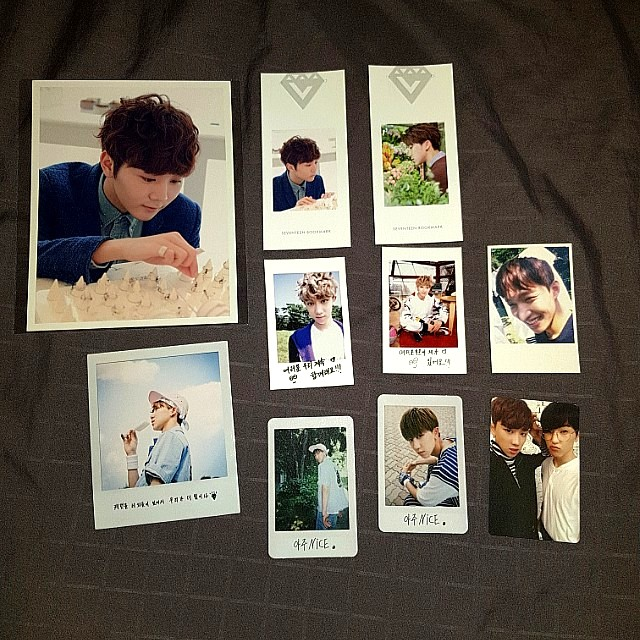 SEVENTEEN Official Photocards