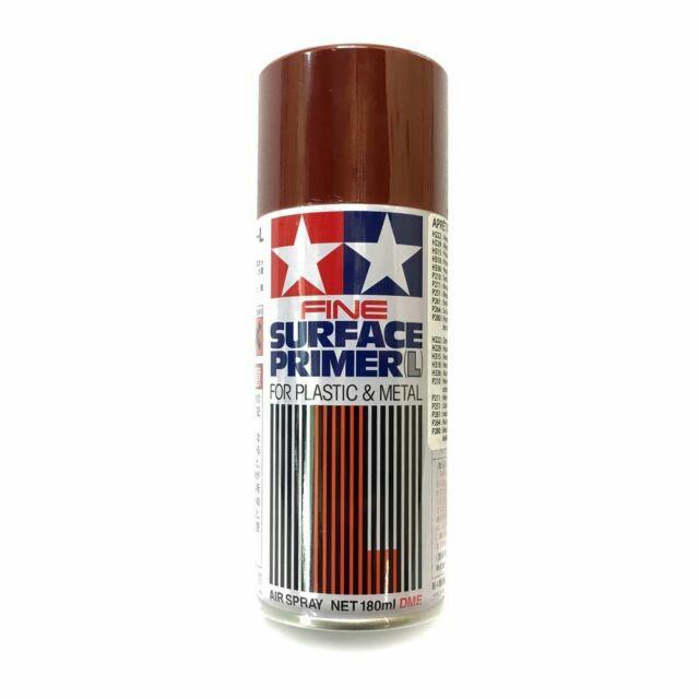 Tamiya Fine Surfacer Primer L Oxide Red Spray