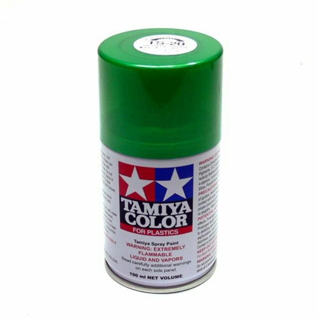 Tamiya TS-20 Metallic Green Spray 100ml