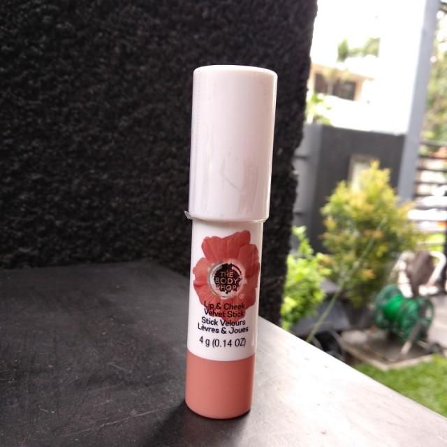 The Body Shop Lip & Cheek Velvet Stick