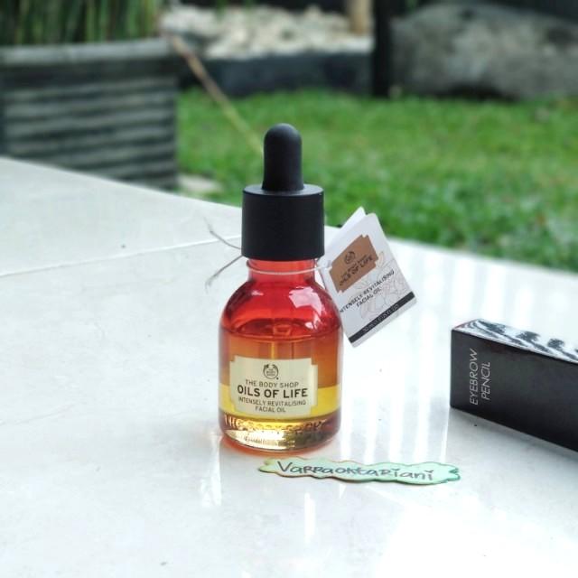 The Body Shop Oils Of Life Facial Oil (FREE REVLON EYEBROW PENCIL)