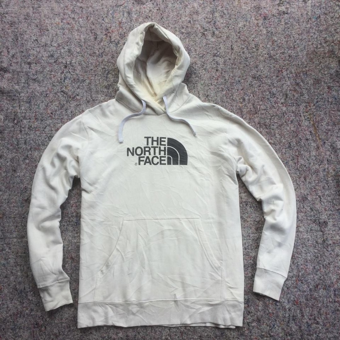 THE NORTH FACE PULL OVER CREAM HOODIE