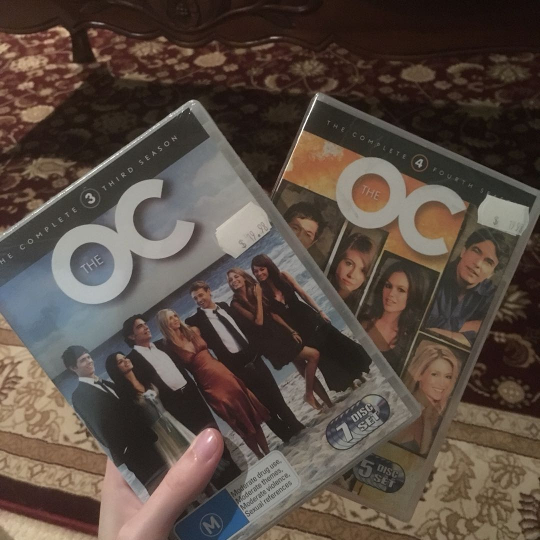 The OC seasons 3 & 4 (unopened)