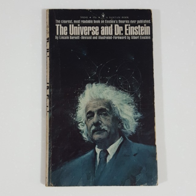 The Universe and Dr. Einstein by Lincoln Barnett [Vintage]