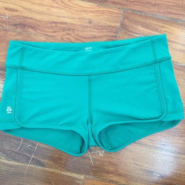 Tonic Yoga Green Shorts