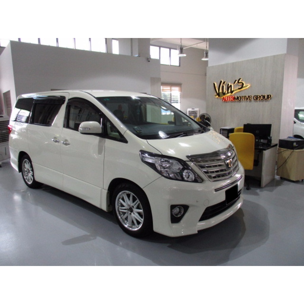 TOYOTA ALPHARD 240S TYPE GOLD II CVT AIRBAG 2WD