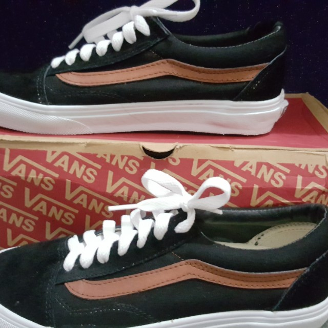 82dbed217f01 VANS Old Skool Vintage Black Brown
