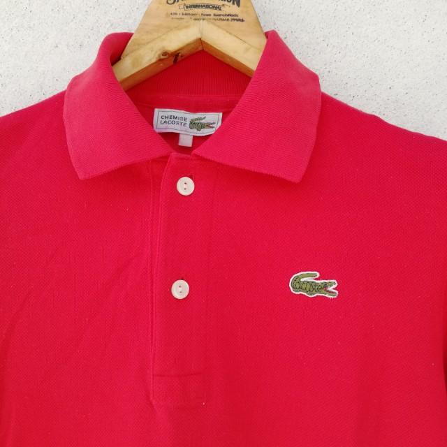 1d963ab4a7c88 Vintage chemise lacoste polo shirt