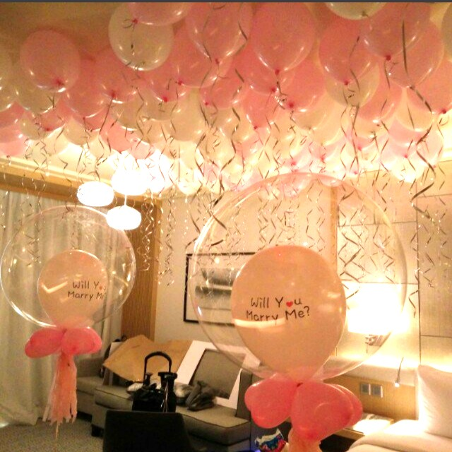 Wedding Proposal Anniversary Rom Surprise Birthday Hotel Room