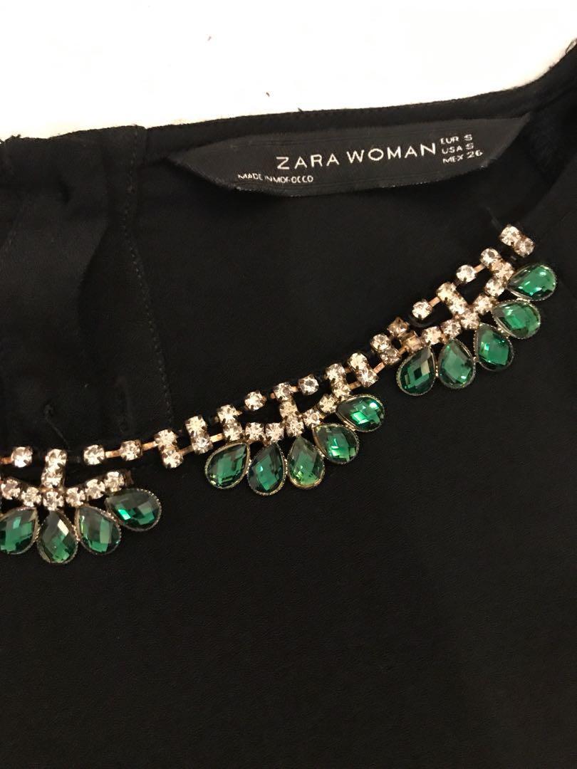 Zara Jeweled top