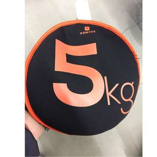Sand Disc 5 Kg (Orange) 沙袋片 5 Kg(橘色)